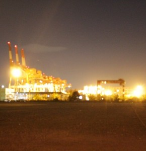 Factory-night-view